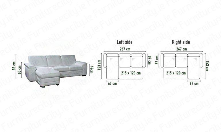 Sofa bed BORELLO MINI by Furniturecity.ie