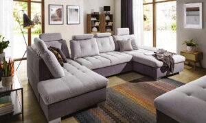 Sofa bed RAMONA U-shape by Furniturecity.ie