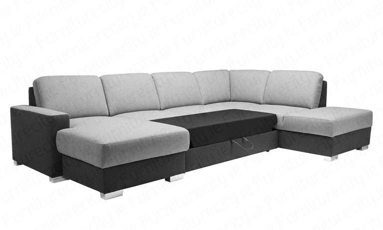 Sofa bed CHANTEL U by Furniturecity.ie