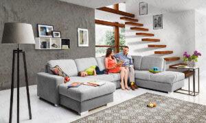 Sofa bed CHANTEL U by Furniturecity.ie