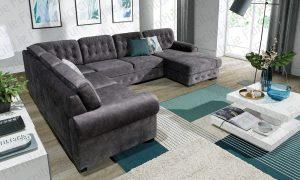 Sofa bed TORINO U by Furniturecity.ie