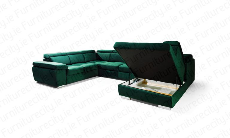 Sofa bed ROSY U by Furniturecity.ie