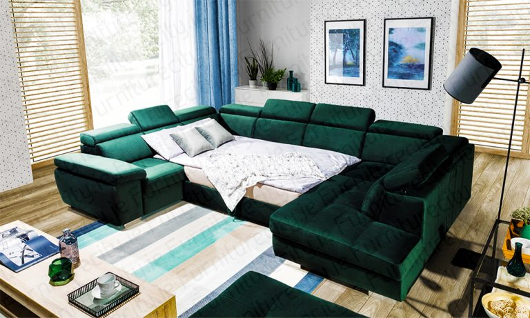 Sofa bed ROSY U by Furniturecity.ie