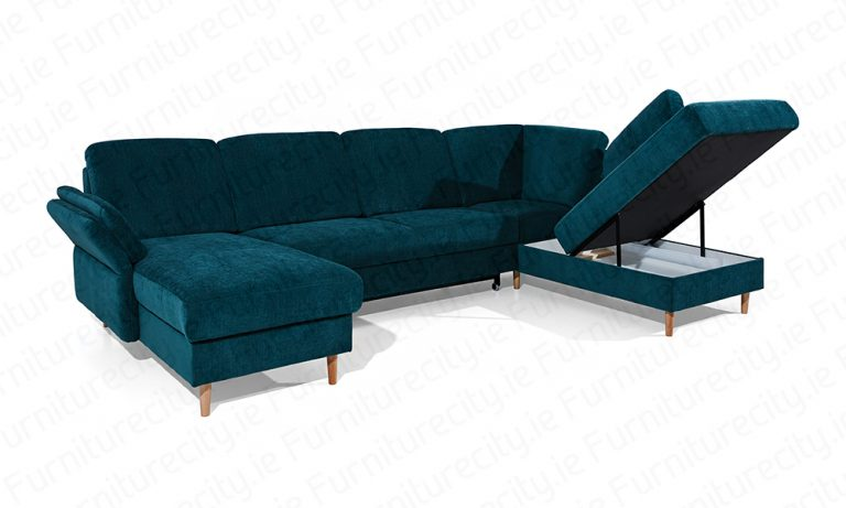 Sofa bed SOLE U by Furniturecity.ie