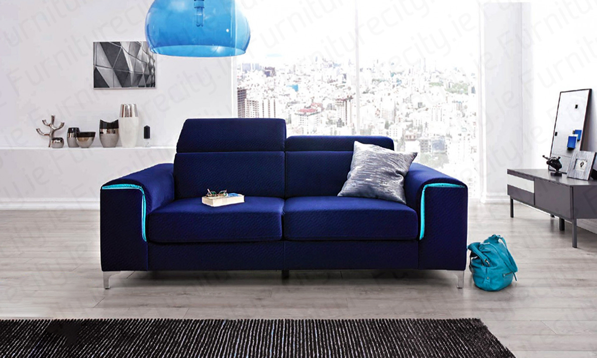 Sofa Genova 3 Seater by Furniturecity.ie