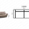 3+2 Set AMICO by Furniturecity.ie
